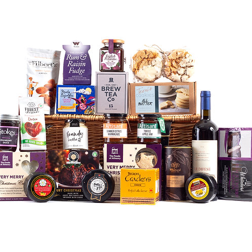 Wonderful Christmas Time Hamper - Le Difese Tenuta  Red Wine
