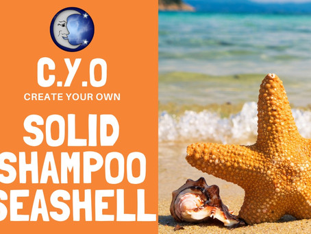 Create Your Own - Solid Shampoo Seashell