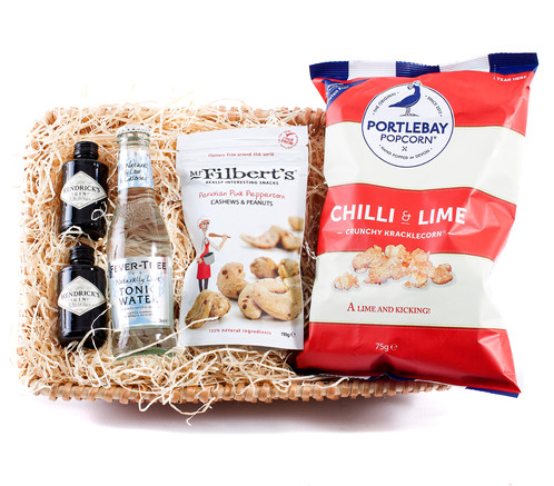 Hendricks gin hamper gluten free mini personalized gift baskets hendricks gin hamper gluten free mini personalized gift baskets uk wickers gift baskets negle Image collections