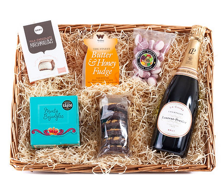 Champagne Hamper with Laurent Perrier