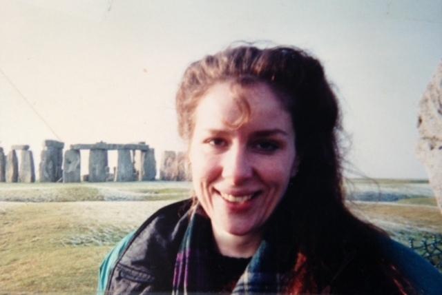 Me at Stonehenge, last century.