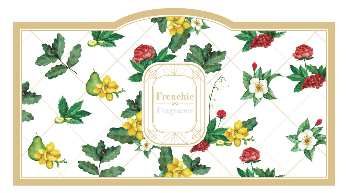 Click to view more ...  Character design Materials:  watercolour Year: 2016 *Pattern design for a Taiwanese brand - Frenchic