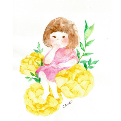Childhood Materials:  watercolour Year: 2018