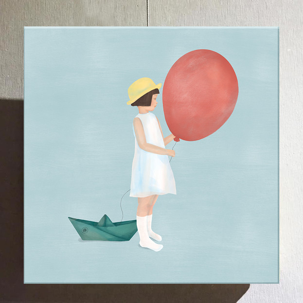 Quotidian - Red balloon