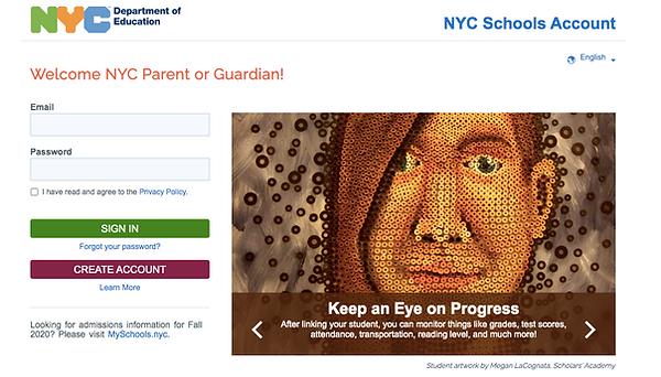 NYC Schools Account