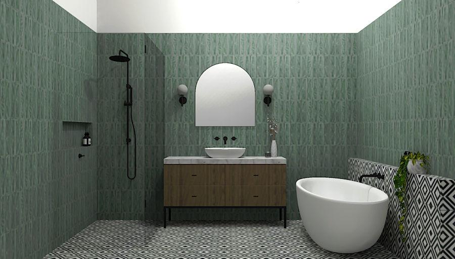 Bathroom 3D Render