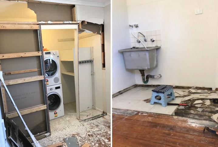 Laundry Renovation - Before
