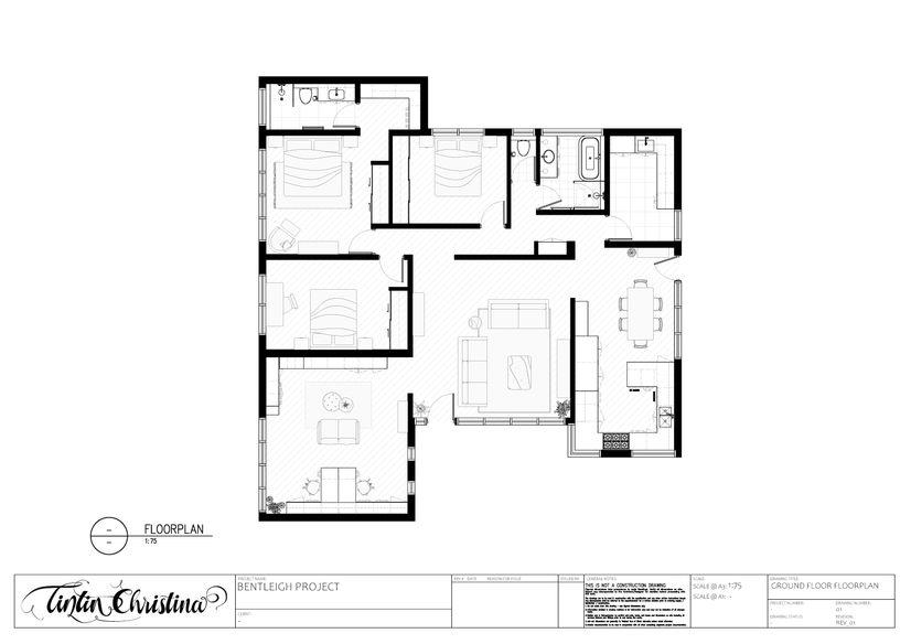 Ground Floor Floorplan (Design Visualisation)