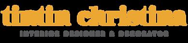 TintinChristina_Logo_2.0_Main Logo COLOU