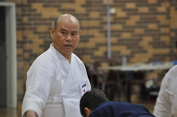 Shyiia Sensei - Hanshi Jodo