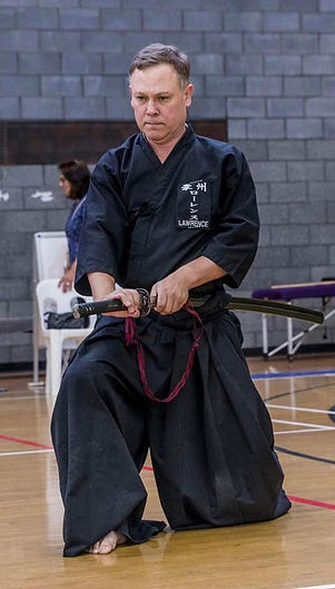 Russell Lawrence - Iaido