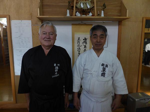 Kusama Sensei - Hanshi Jodo