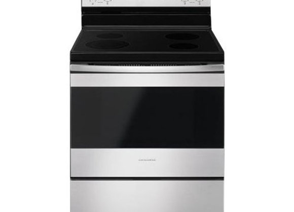 Amana Stainless Steel Smooth Top Electric Range
