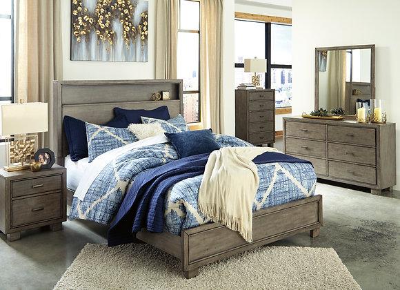 Arnett Gray 6pc Bedroom Group