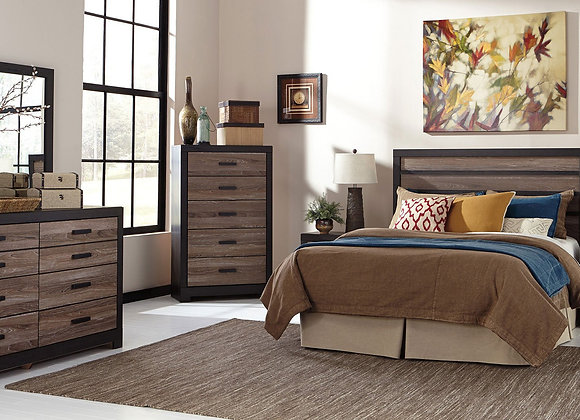 Harlinton 5 Piece Bedroom Set