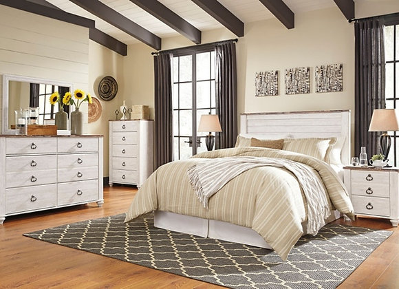 Willowton 5 Piece Bedroom Set