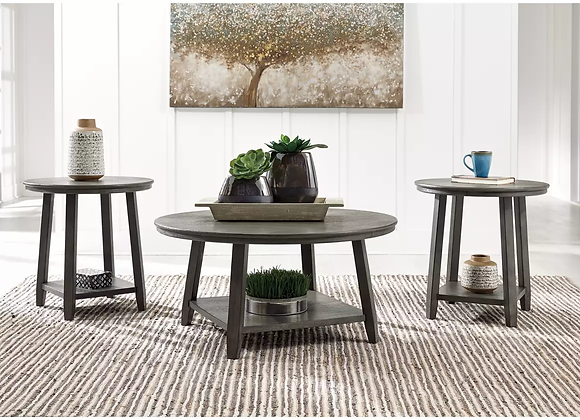 Caitbrook Coffee and End Table