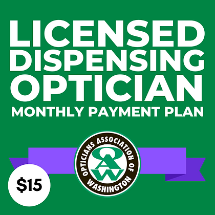 Licensed Dispensing Optician Monthly