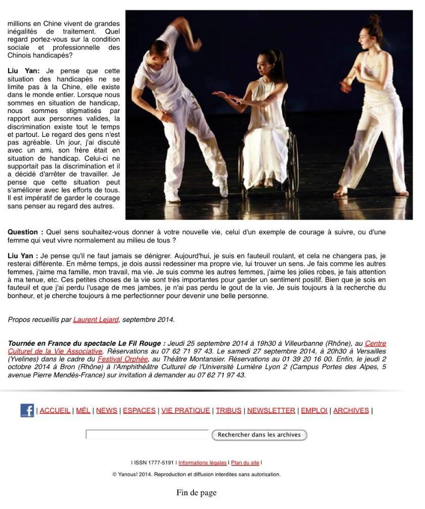 Yanous! , septembre 2014 (2)