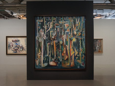 Exhibition of Wifredo Lam   |   Centre Georges Pompidou   |   Paris, France 2015-16