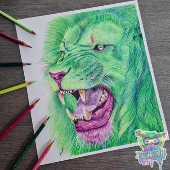 GreenLionBonnitaDoodles.jpg