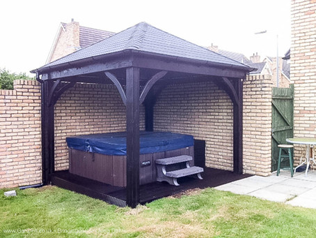 Trendy, purpose built Gazebo
