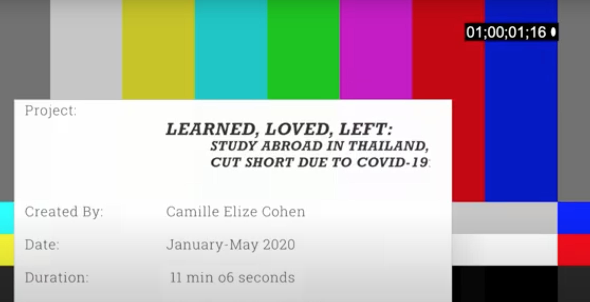 Camille Cohen::United States:Thailand