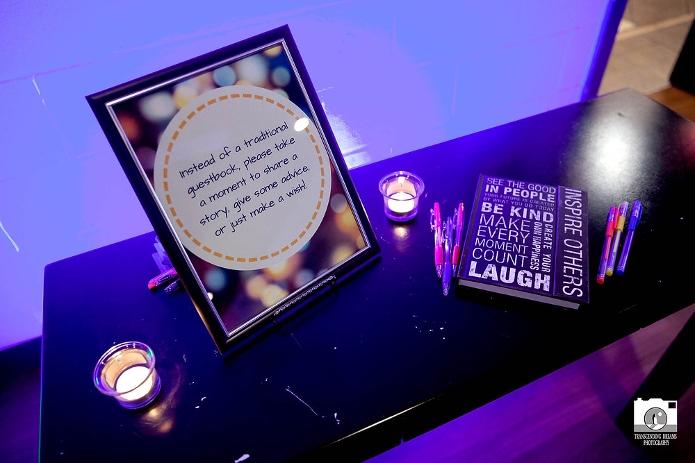 Guestbooks for After-party shares