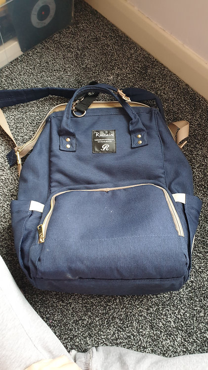 Backpack nappy bag