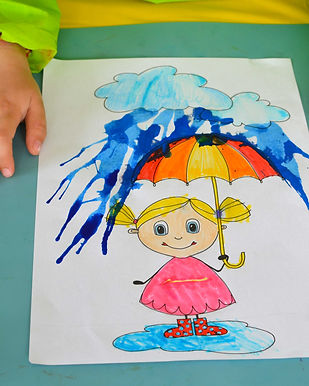 Colorful umbrella ©minicreativity