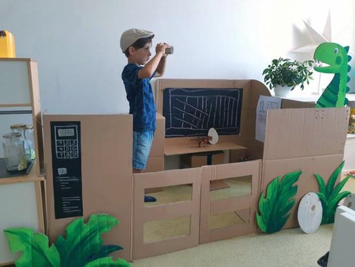 Jurassic park u nás doma (áno, dá sa to vyrobiť z kartónu)