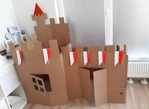 Ako sme v sobotu vyrobili hrad a priletel drak