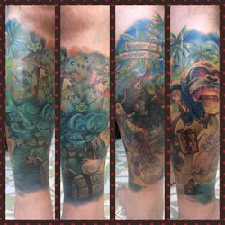 monkey island collage
