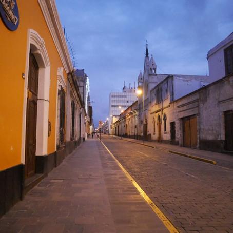 Die Lage in Arequipa - Interview mit Luis von INTIWAWA