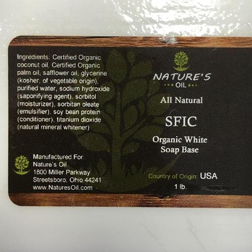 Nature's Oil Organic White Soap Base (4 pounds)