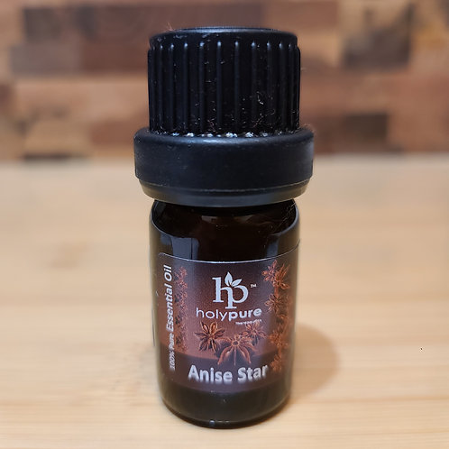 Anise Star Essential Oil Fragrance Soap Additive 5ml (100%PURE,VIRGIN,UNDILUTED)