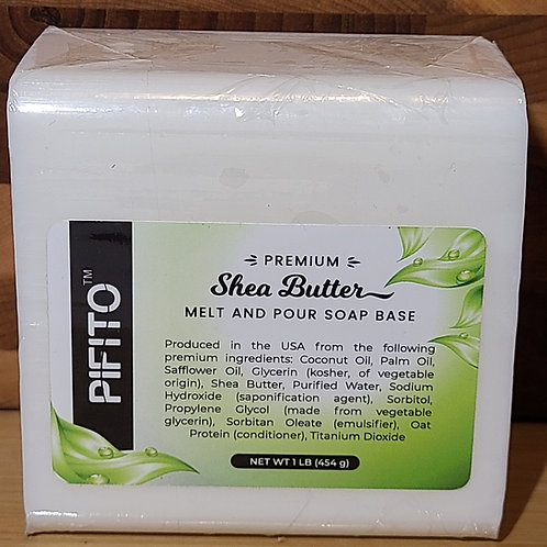 Melt and Pour Soap Base │ 1lb of Shea Butter Soap Base │ Glycerin Soap Making