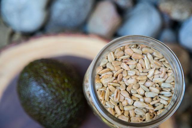 Natural, raw ingredients