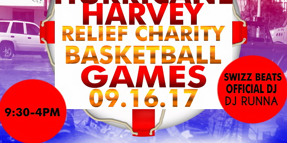 Bridging the Gap, Hurricane Harvey Relief Charity Basketball Games