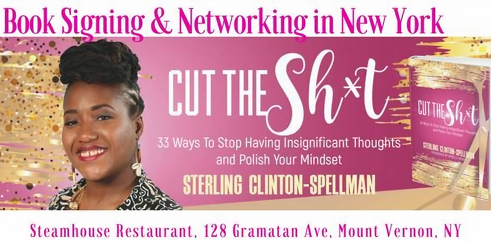 New York Book Signing & Networking w/ Sterling & Friends