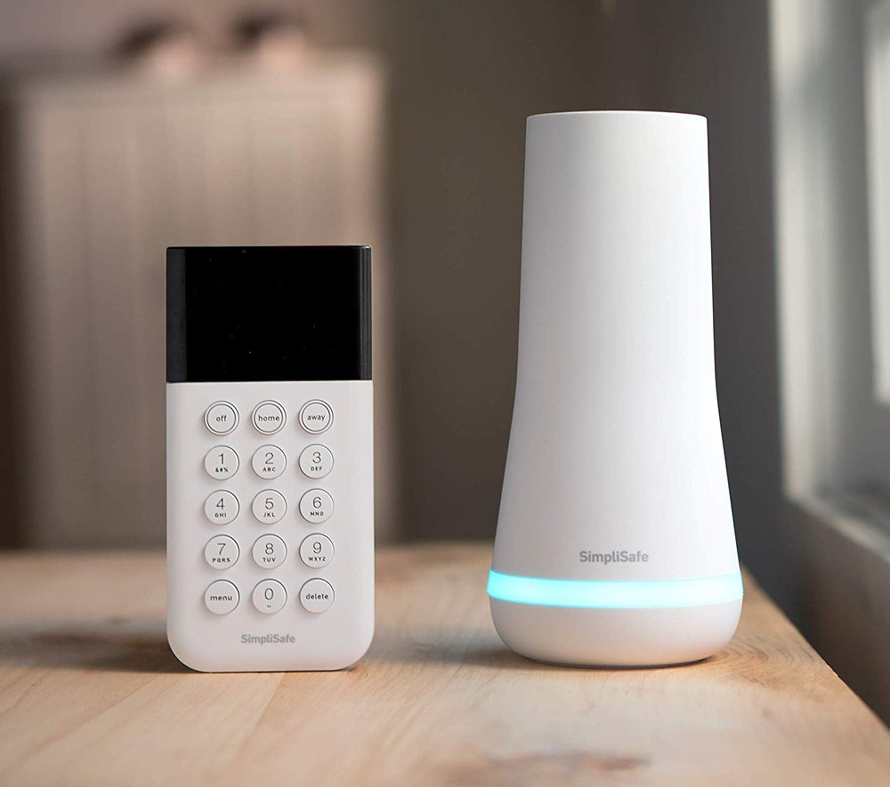 SimpliSafe Base Station & Keypad