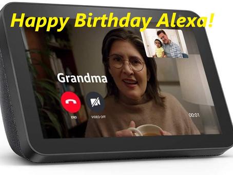 Happy Birthday Alexa!