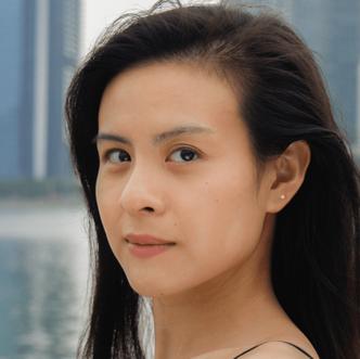 Lauren at Marina Bay