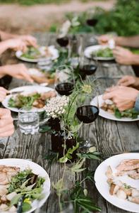 Table wine Christmas family