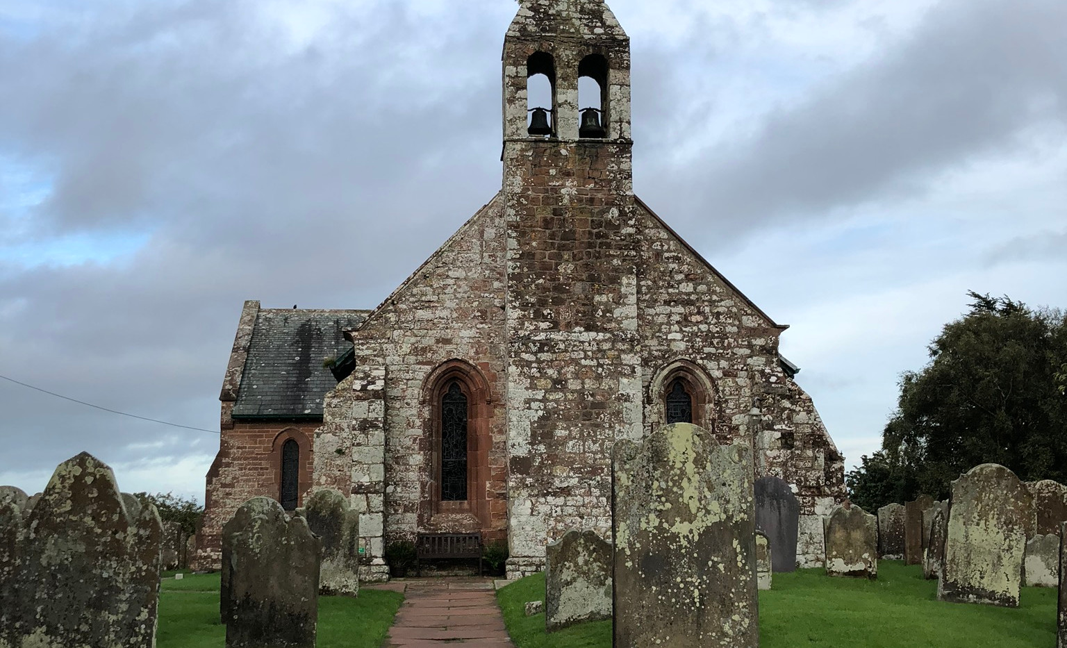Bowness on Solway Firth Church (made from Hadrian's Wall)
