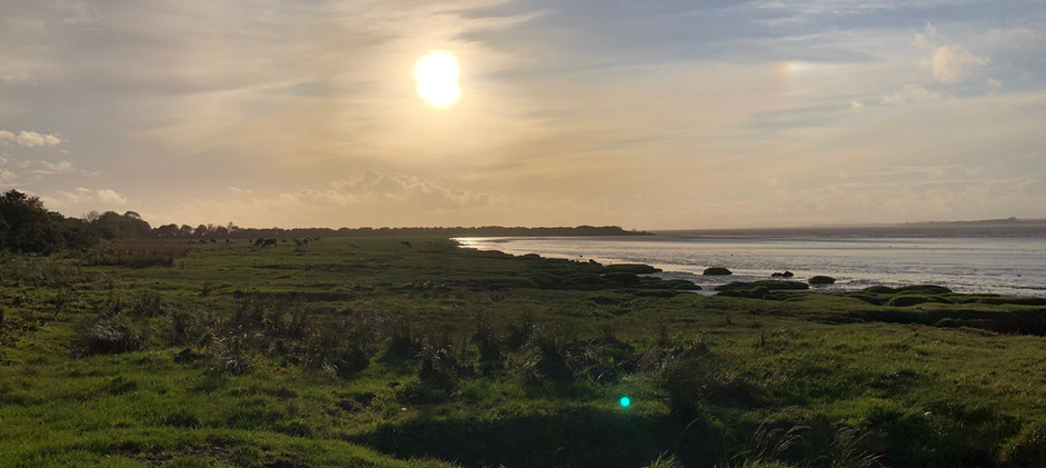Evening on Solway Firth