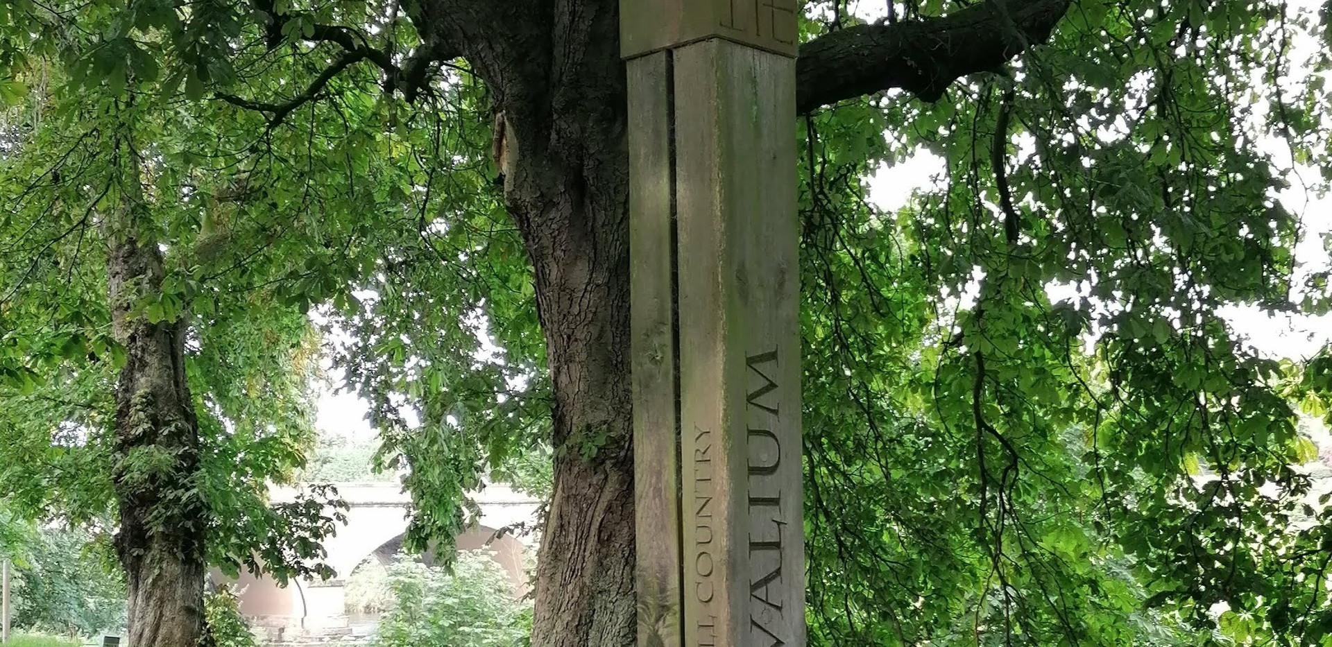 Signposting Within Bitts Park, Carlisle