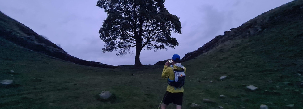 Playing the Tourist at Sycamore Gap