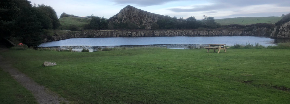 Quarry and Hills to Come