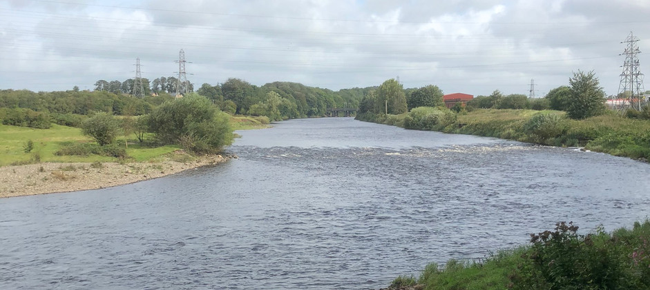 River Eden as I Entered Carlisle